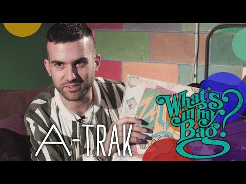 Amoeba's What's In My Bag: A-Trak