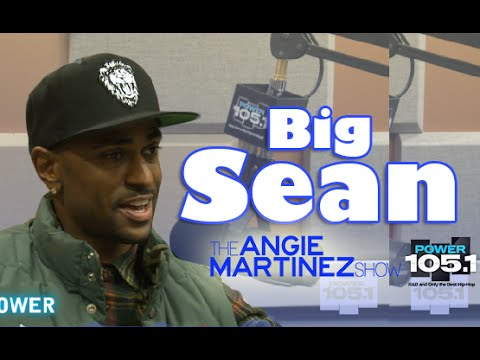 Angie Martinez: Big Sean Interview