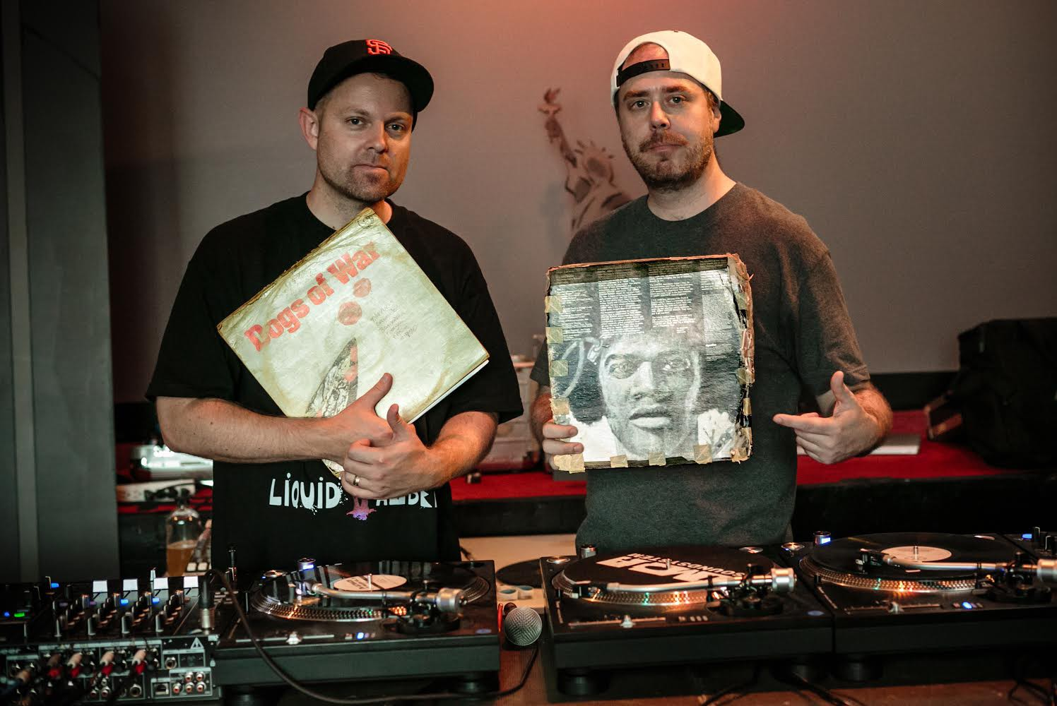 Cuepoint: DJ Shadow & Cut Chemist Return To Planet Rock