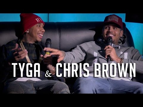 Hot 97: Chris Brown & Tyga Interview