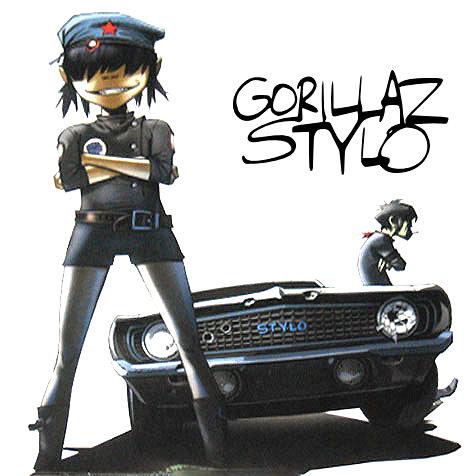 "Gorillaz (feat. Mos Def & Bobby Womack) - ""Stylo"""