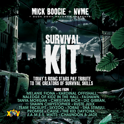MICK BOOGIE + nVMe + Duck Down Present SURVIVAL KIT