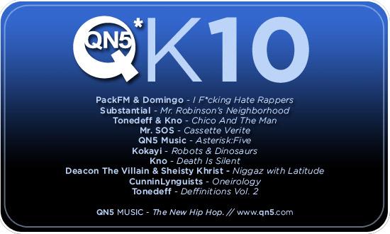 QN5 Announces 2010 Release Lineup