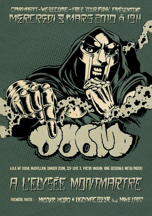 "New M.F. Doom ""Live"" Dates"