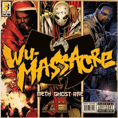 "UPDATED (AGAIN): Rae + Ghost + Meth ""Wu Massacre"" Artwork + Tracklist + Production Credits"