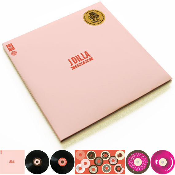 J. Dilla Donut Shop Serato Vinyl Set + &quot;Safety Dance&quot; MP3