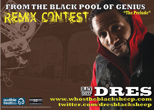Dres The Black Sheep Announces Remix Contest