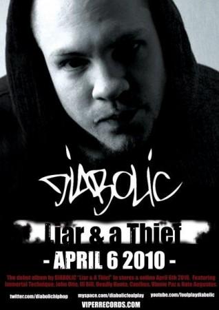 Diabolic - Liar & A Thief