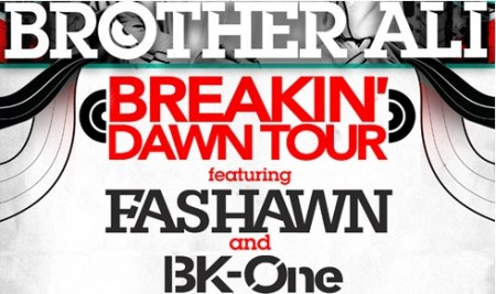 Brother Ali + Fashawn + BK-One - &quot;Breakin&#039; Dawn Boys&quot; (MP3)
