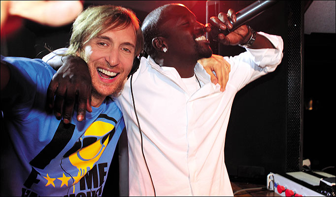 "David Guetta + Akon - ""Life Of A Superstar"""