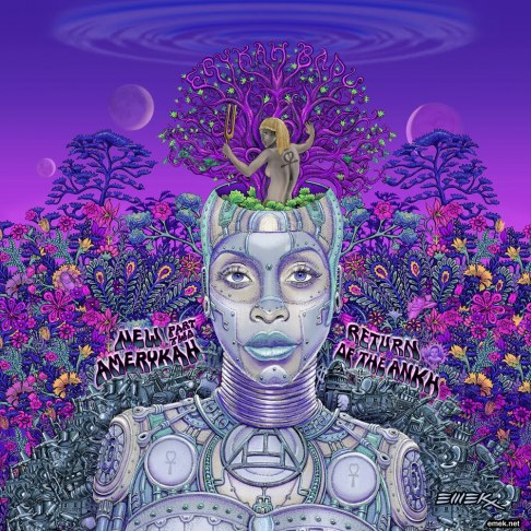 "Erykah Badu - ""New Amerykah Part Two: Return Of The Ankh"" - @@@1/2"