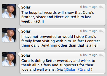Solar &amp; &quot;Guru&quot; Tweet Within Seconds Of Each Other; Year Round Label Head Speaks