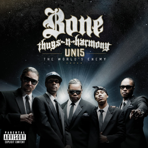 "Bone Thugs-N-Harmony - ""Uni:5 The World's Enemy"" Cover Art"