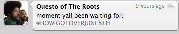 The Roots & Royce Da 5'9 Tweet Release Dates