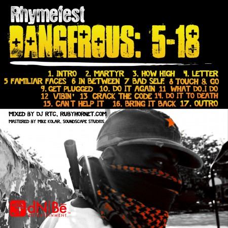 "Rhymefest - ""Dangerous: 5-18"" (Mixtape)"