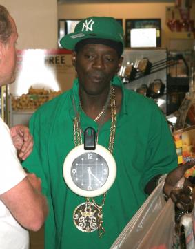 Flavor Flav Tried To Steal My Pizza.