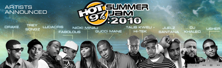 Summer Jam 2010 Line-Up Revealed