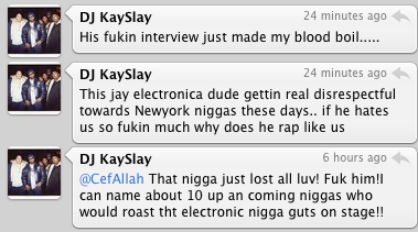 Kay Slay Is Mad At Jay Electronica.