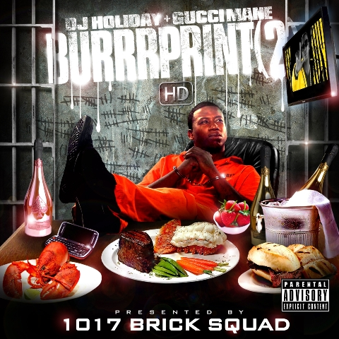 "Gucci Mane - ""The Burrprint 2 HD"" Mixtape - @@ (Review) (*Sticky*)"