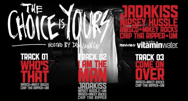 Don Cannon + Vitamin Water + Jadakiss + More - The Choice Is Yours (Mixtape)