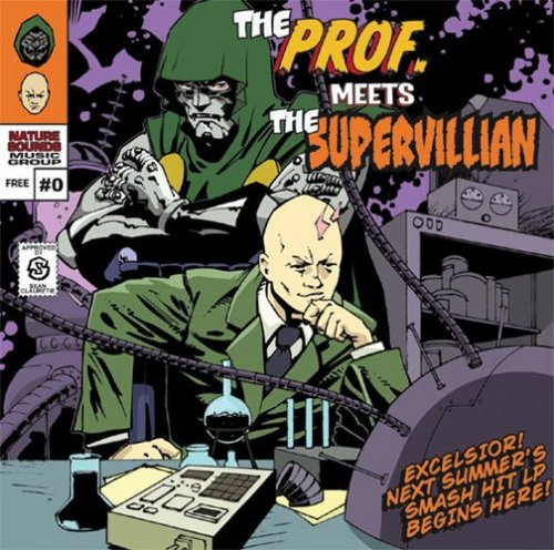 "MF Doom - ""The Prof. Meets The Supervillain"" EP (FIXED LINK)"