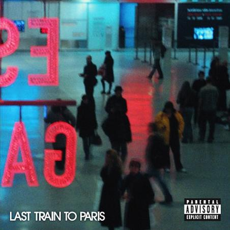 Diddy - &quot;Last Train To Paris&quot; Album Cover Artwork