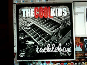 "The Cool Kids ""Tacklebox"" Cover Art"