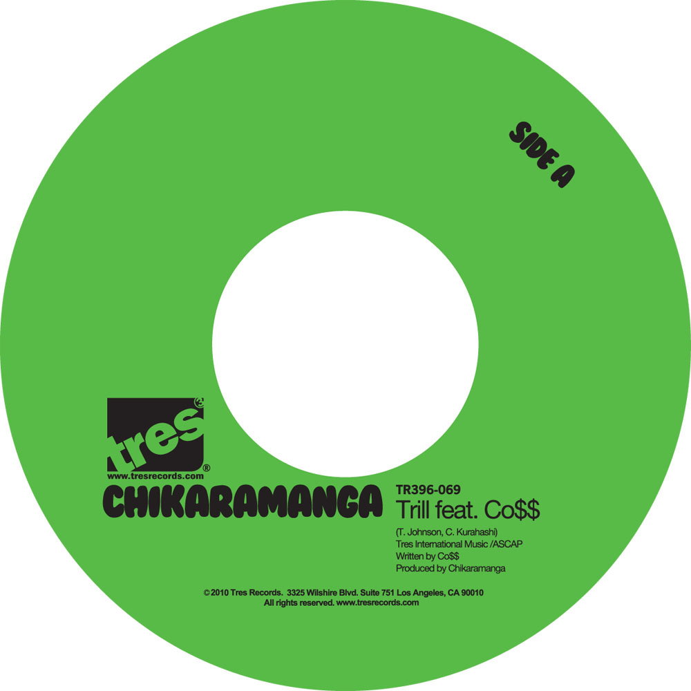 "Chikaramanga - ""Trill"" (feat. Co$$) (MP3)"