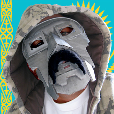 "MF Borat (aka Sacha Baron Cohen and MF Doom) – ""The Mask and the Moustache EP"""