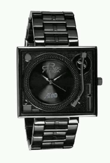 Roc Raida Turntable Watch By Fluid