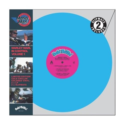 "Marley Marl ""In Control Vol. One"" Blue Vinyl LP (2010)"