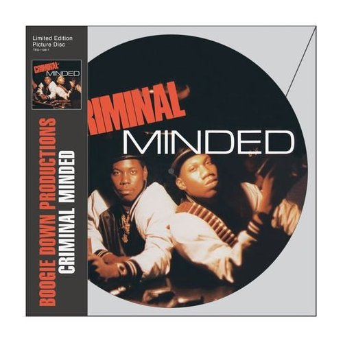 Boogie Down Productions - &quot;Criminal Minded&quot; Picture Disc LP (2010)