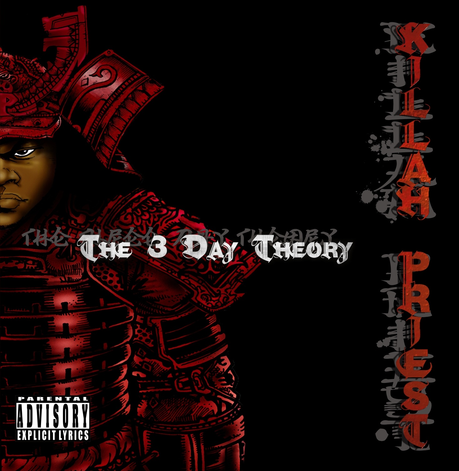 Killah Priest - &quot;The 3 Day Theory&quot; - @@@ (Review)