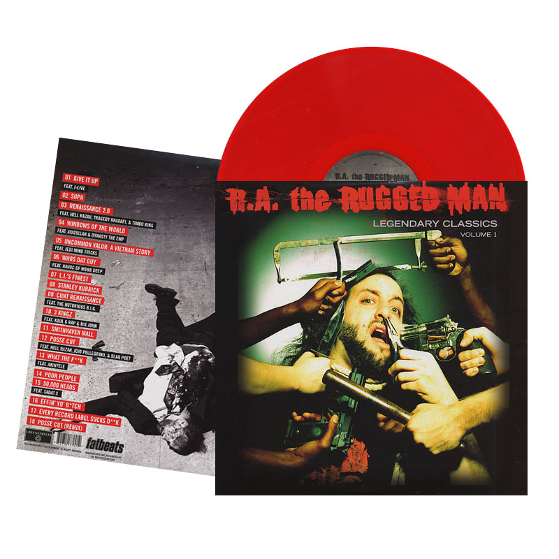 "R.A. The Rugged Man - ""Legendary Classics"" Limited Edition Red Vinyl LP"