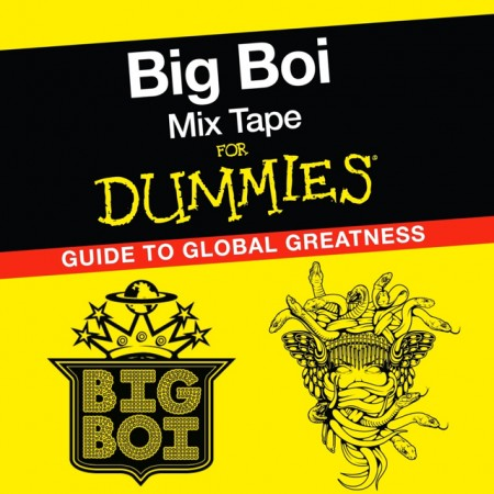 Big Boi - Mixtape For Dummies (Cover Art)