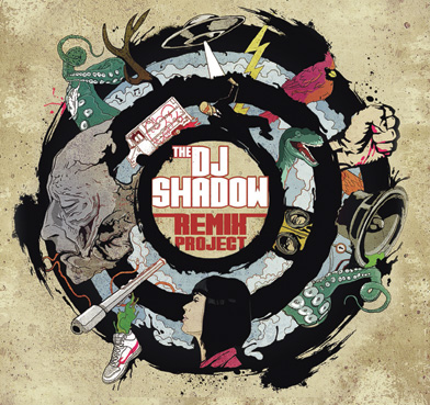 "DJ Shadow - ""The Remix Project"" Artwork + Tracklist"