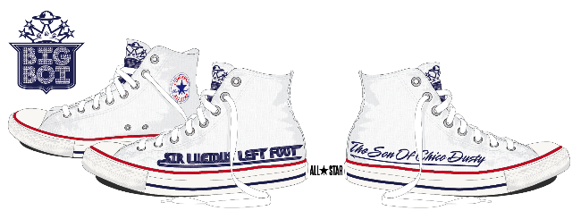Big Boi Teams With Converse For Limited Edition Shoe