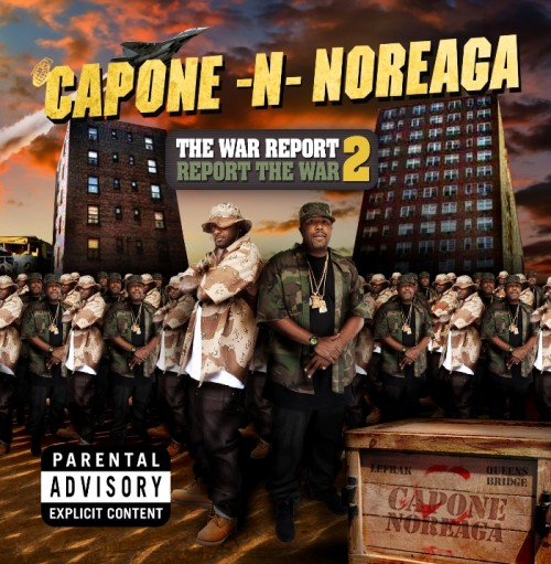 "Capone-N-Noreaga - ""The War Report 2: Report the War"" - @@@@ (Review)"