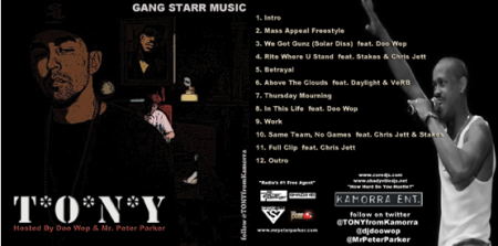 "DJ Doo Wop + Mr. Peter Parker + T.O.N.Y. - ""Gangstarr Music"" (Mixtape)"