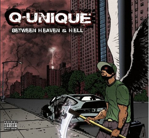 "Q-Unique - ""Between Heaven & Hell"" Cover + Tracklist"
