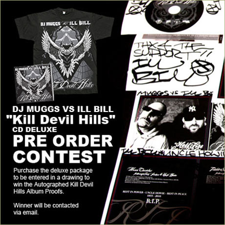 "DJ Muggs Vs. Ill Bill ""Kill Devil Hills"" Preorder Packages Are Up"