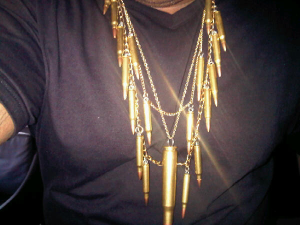 "Cee-Lo Green's ""The Lady Killer"" Necklace"