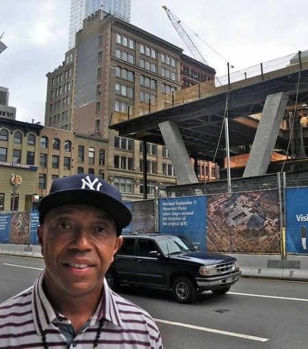 Russell Simmons Defends Ground Zero Mosque With Interfaith Symbols In His Window