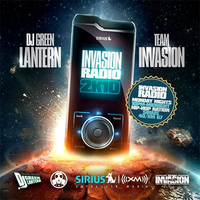 "DJ Green Lantern - ""Invasion Radio 2K10"" (Mixtape)"