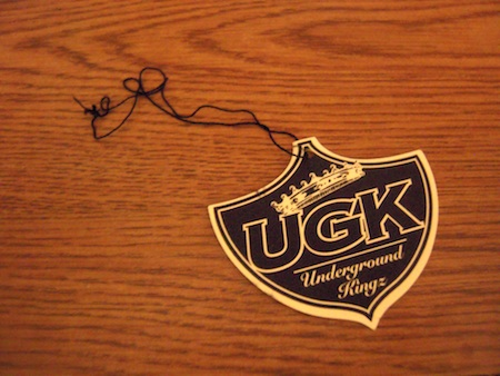 The Official UGK Air Freshener