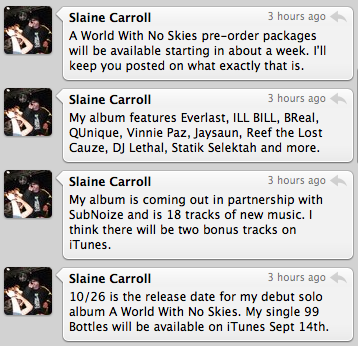 "Slaine Announces ""A World With No Skies"" LP For October 26th"