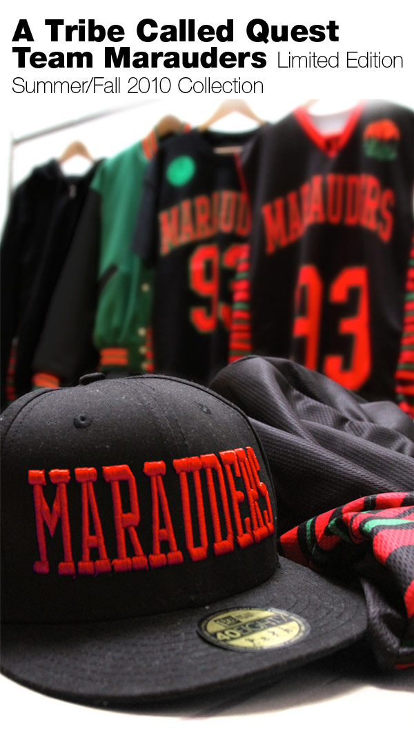 "Official ATCQ ""Midnight Marauders"" Merch"