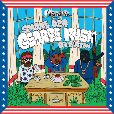 "Smoke DZA - ""George Kush Da Button"" (Mixtape)"