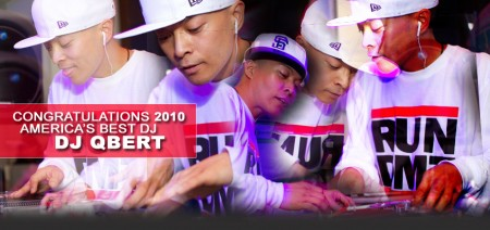 DJ Q-Bert Voted America's Best DJ