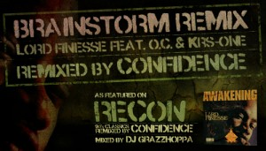 Lord Finesse feat. O.C. & KRS-One - Brainstorm (Confidence Remix)(MP3)